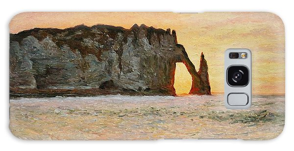 Etretat, Sunset  Galaxy Case