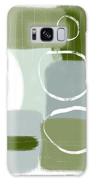 Artwork Galaxy Case - Eucalyptus Breeze  2- Art By Linda Woods by Linda Woods