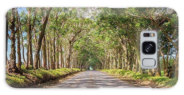 Town Galaxy Case - Eucalyptus Tree Tunnel - Kauai Hawaii by Brian Harig