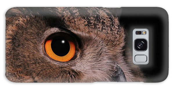 Eurasian Eagle-owl #3 Galaxy Case