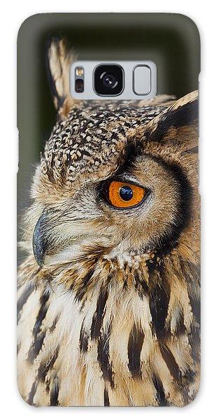 Eurasian Eagle-owl Bubo Bubo Galaxy Case by Gabor Pozsgai