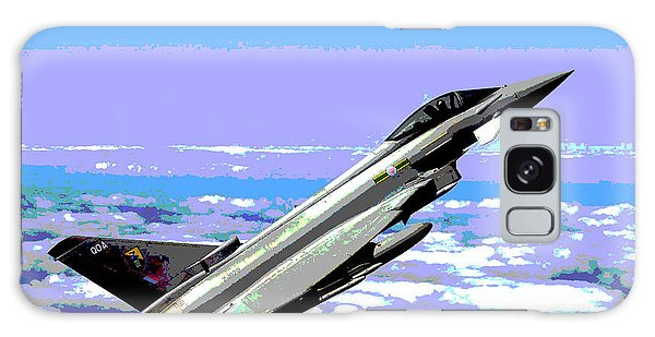 Eurofighter Typhoon Galaxy Case by Charles Shoup