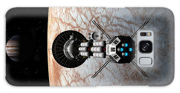 Europa Insertion Galaxy Case by David Robinson