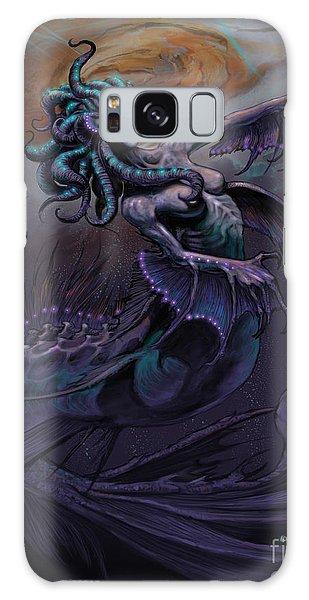 Europa Mermaid Galaxy Case by Stanley Morrison