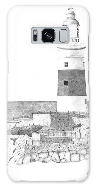 Europa Point Lighthouse Galaxy Case