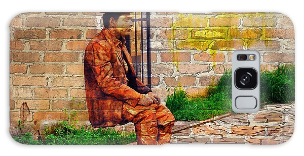 European Street Performer Galaxy Case by Digital Art Cafe