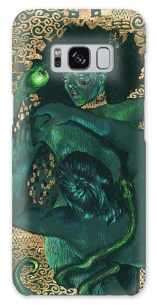 Galaxy Case featuring the painting Eve by Ragen Mendenhall