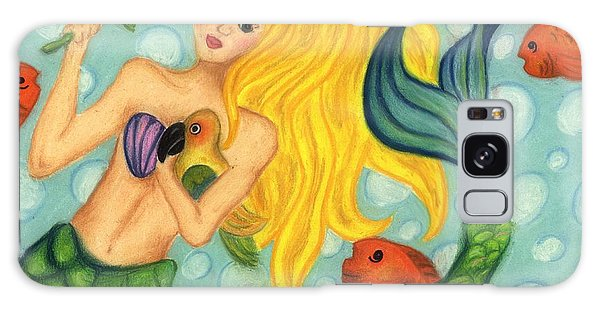 Eve The Mermaid Galaxy Case