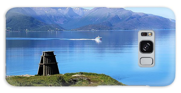 Evenes, Fjord In The North Of Norway Galaxy Case by Tamara Sushko