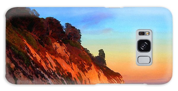Evening At Arroyo Burro Galaxy Case