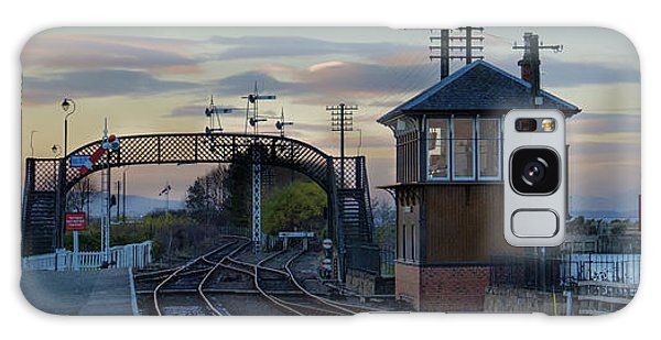 Evening At Bo'ness Station Galaxy Case