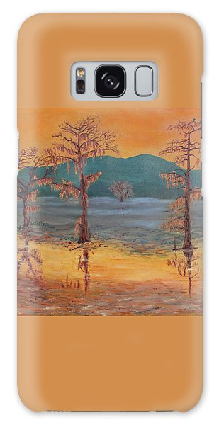 Evening On Caddo Lake Galaxy Case