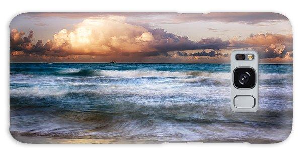Evening At Kailua Beach Galaxy Case