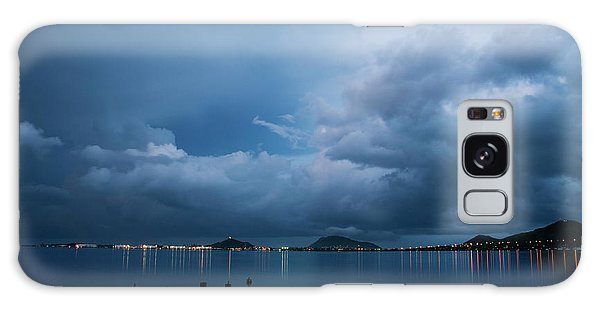 Evening At Kaneohe Bay Galaxy Case
