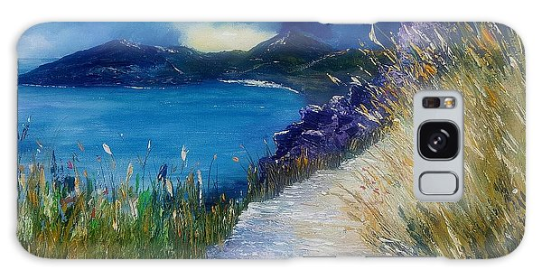 Evening At Keem Bay Co Mayo Galaxy Case