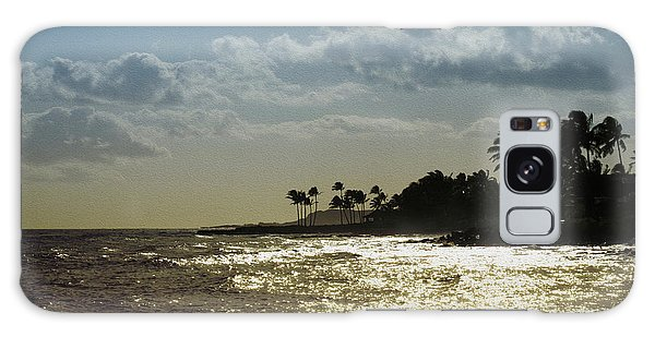 Evening At Poipiu Kauai Galaxy Case
