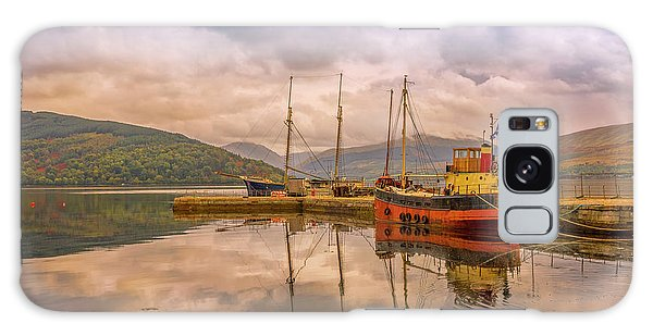 Evening At The Dock Galaxy Case by Roy McPeak