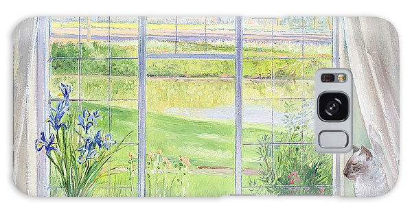Breeze Galaxy Case - Evening Breeze by Timothy Easton
