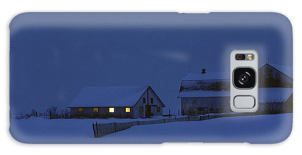 Evening Chores Galaxy Case