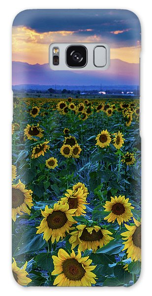 Evening Colors Of Summer Galaxy Case