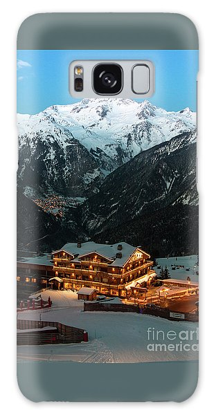 Evening Comes In Courchevel Galaxy Case