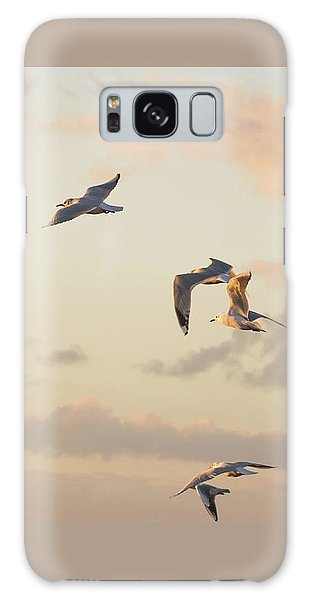 Evening Gulls Galaxy Case