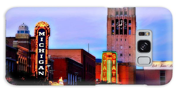 Evening In Ann Arbor Galaxy Case by Pat Cook