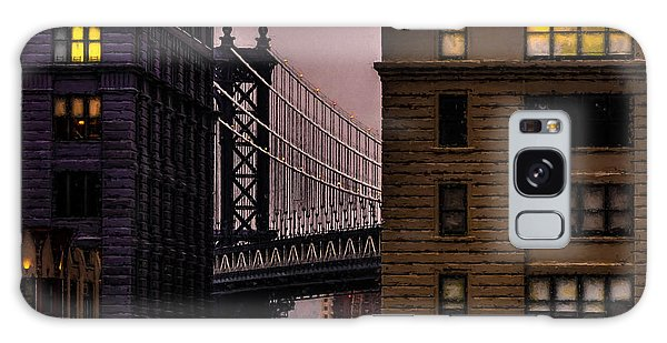Galaxy Case featuring the photograph Evening In Dumbo by Chris Lord