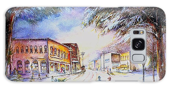 Evening In Dunnville Galaxy Case