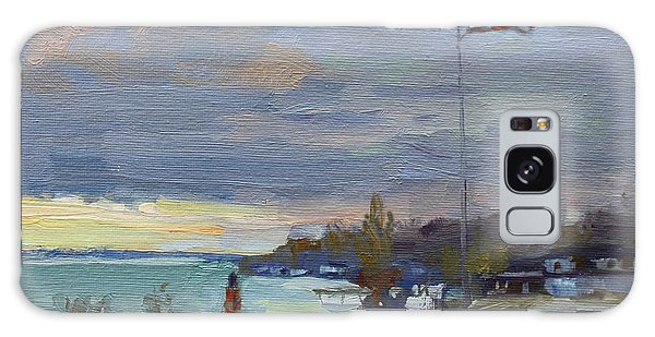 Evening Galaxy Case - Evening In Gratwick Waterfront Park by Ylli Haruni