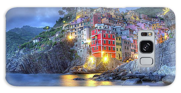 Evening In Riomaggiore Galaxy Case