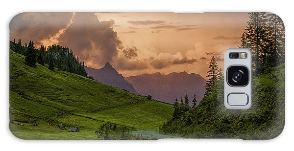 Cloudscape Galaxy Case - Evening In The Alps by Nailia Schwarz