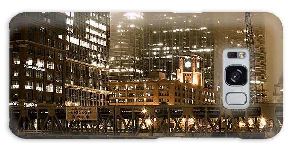 Evening In The Windy City Galaxy Case