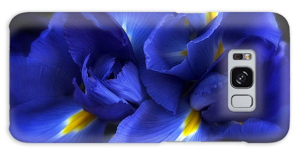 Galaxy Case featuring the photograph Evening Iris by Jessica Jenney