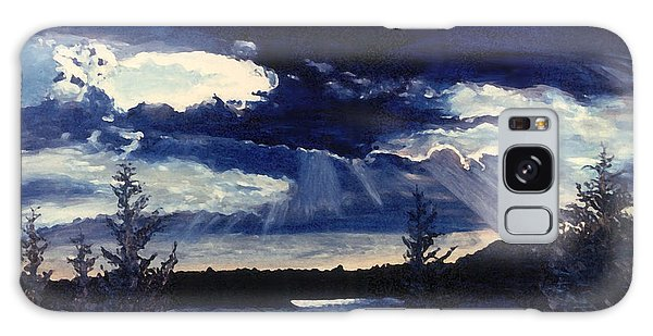 Evening Lake Galaxy Case by Steve Karol