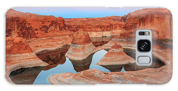 Southwest Usa Galaxy Case - Evening Light In Reflection Canyon. by Johnny Adolphson