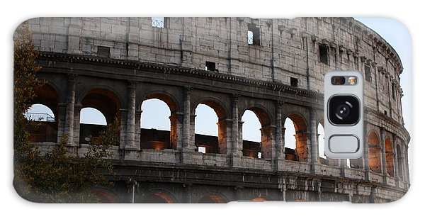 Evening Light In Rome Galaxy Case by Pat Purdy