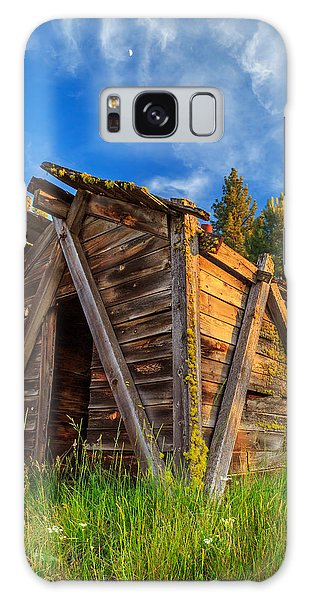 Evening Light On An Old Cabin Galaxy Case by James Eddy