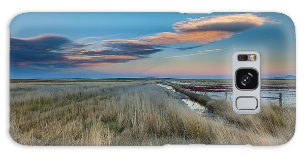 Galaxy Case featuring the photograph Evening On The Plains by Fran Riley