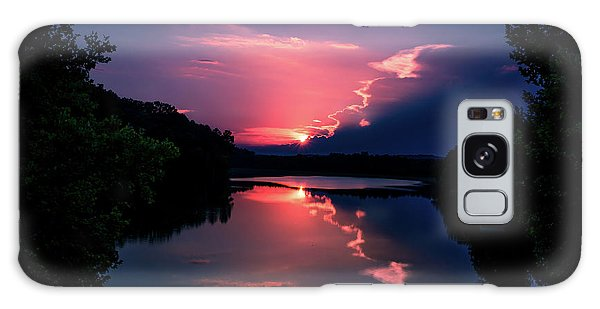 Evening Reflection Galaxy Case