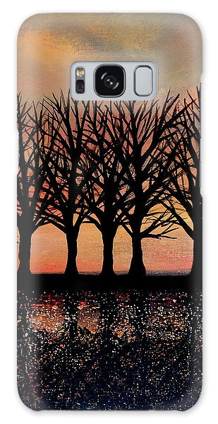 Evening Reflections Galaxy Case