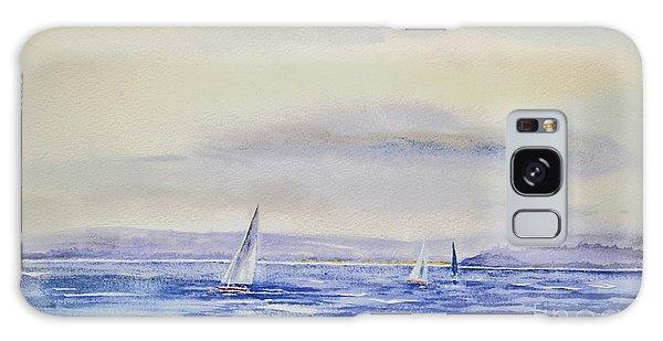 Evening Sail On Little Narragansett Bay Galaxy Case
