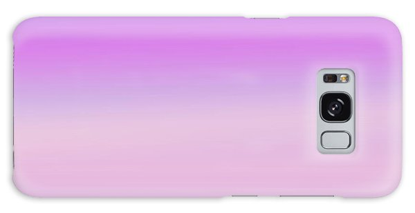 Evening Sky Abstract Galaxy Case by Denise Beverly