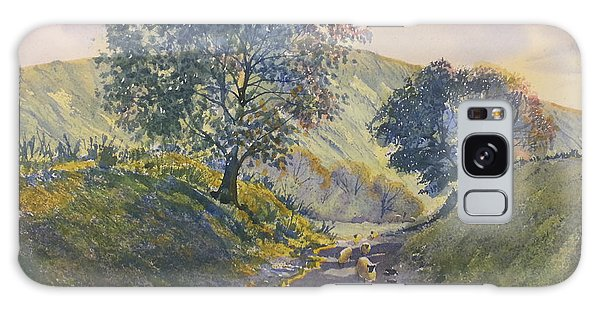 Evening Stroll In Millington Dale Galaxy Case