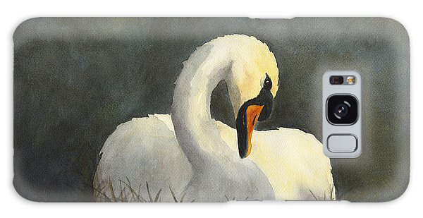Evening Swan Galaxy Case