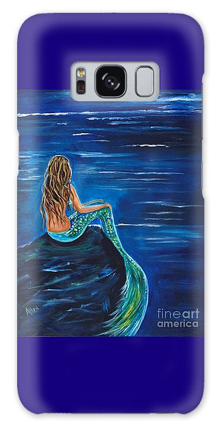 Evening Tide Mermaid Galaxy Case