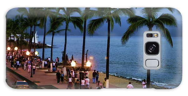 Evenings On The Malecon Galaxy Case by Chuck Kuhn
