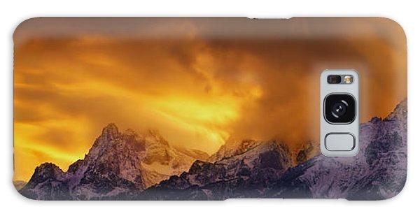 Teton Range Galaxy Case - Event Horizon - Craigbill.com - Open Edition by Craig Bill