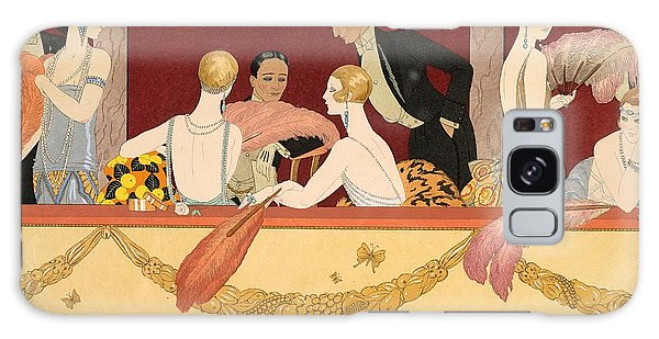 Ostrich Galaxy Case - Eventails by Georges Barbier