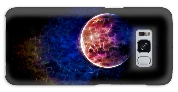 Ever Changing Moon Color Waves Galaxy Case by Denise Beverly